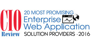 20 Most Promising Enterprise Web Application Solution Providers - 2016